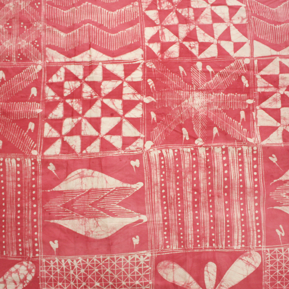 Strawberry West african batik