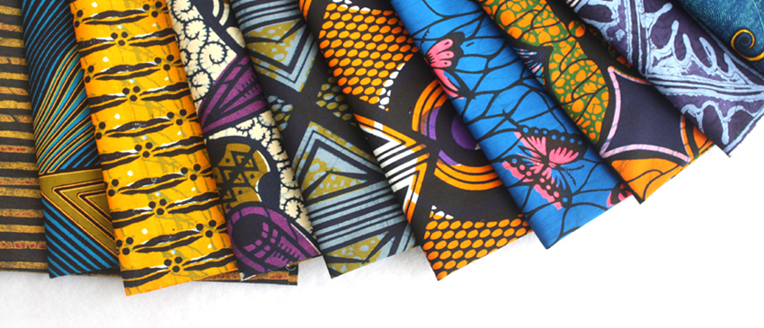 African fabric fat quarters