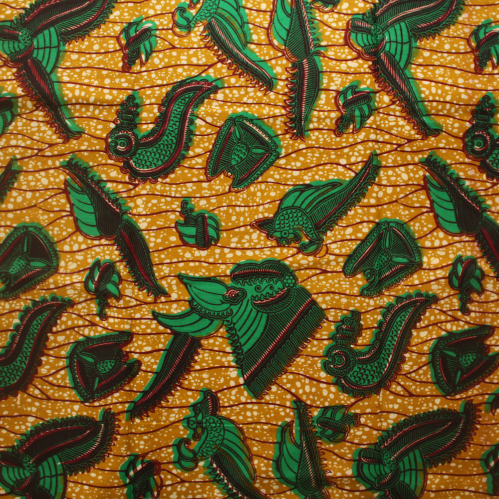 Green And Purple Wallpaper 67 Images: Green And Brown Crevettes Ankara Fabric