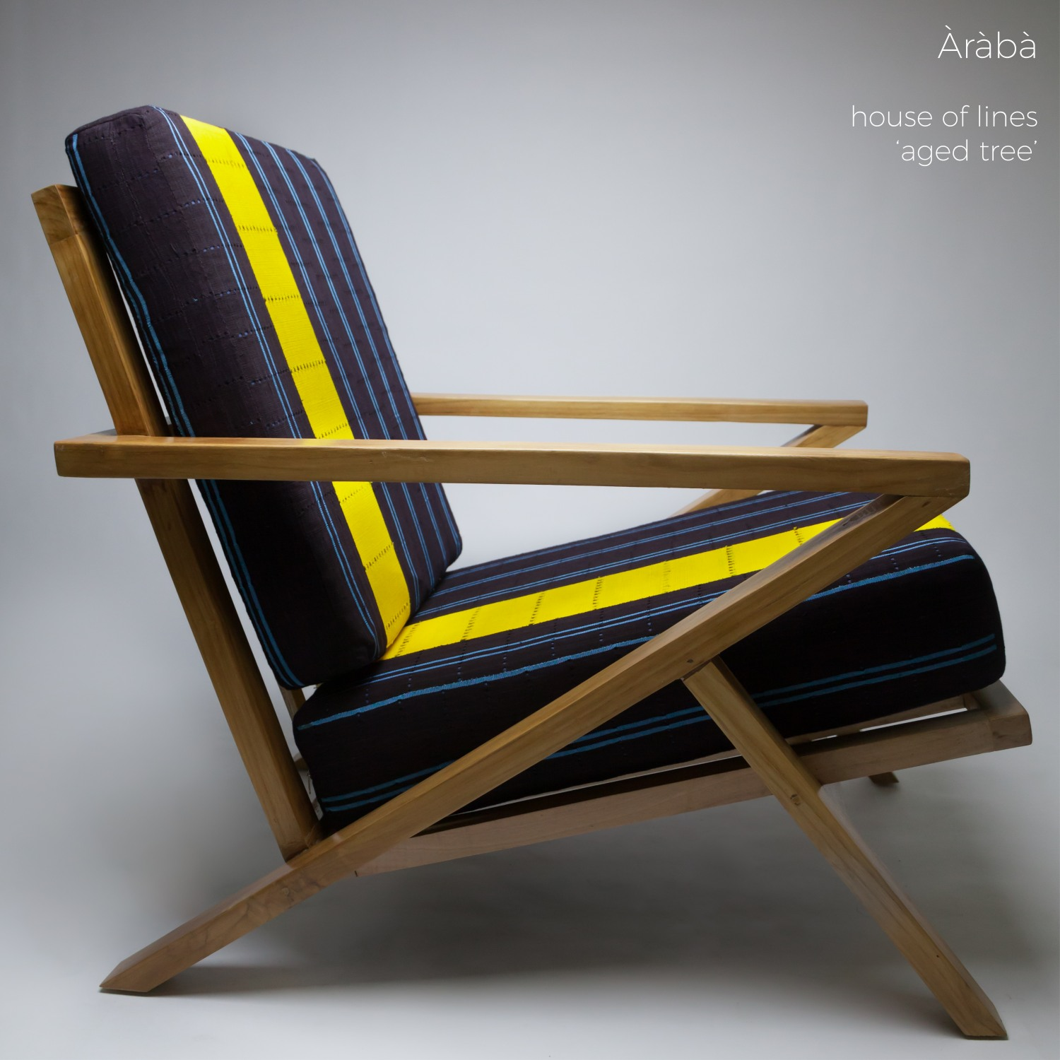 Aso Oke Chair by Ile Ila