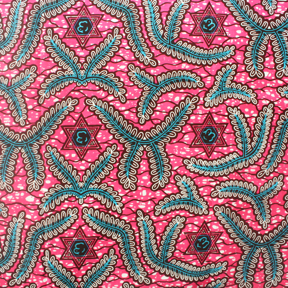 Pink African Print