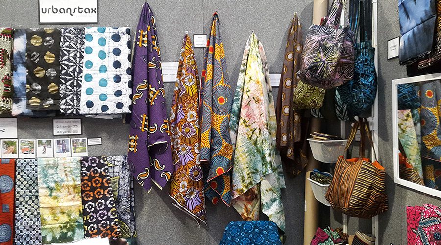 Urbanstax at the festival of quilts 2017