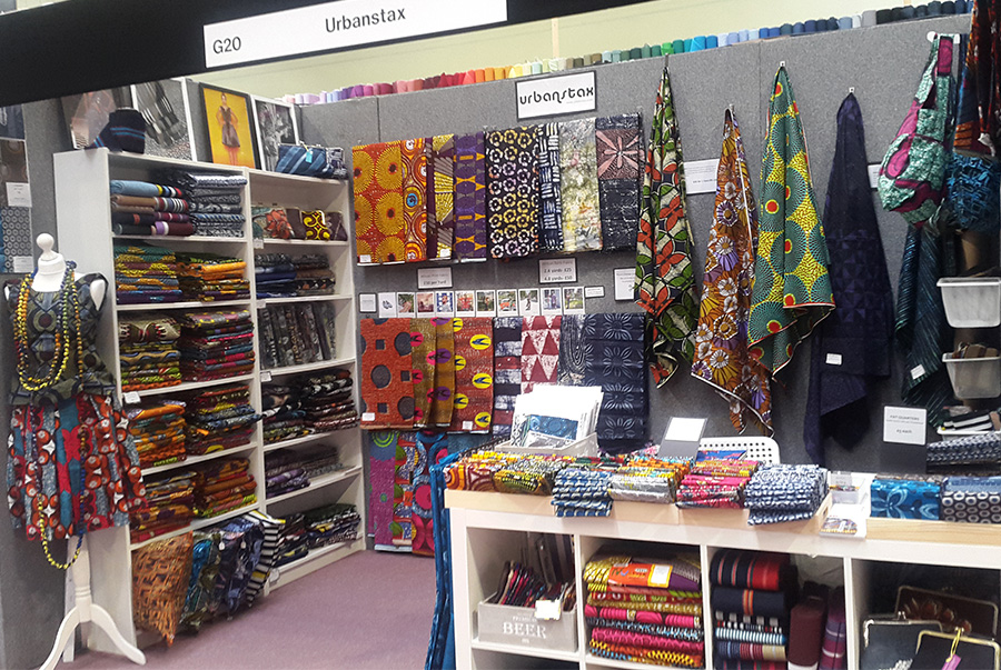 at the festival of quilts 2017