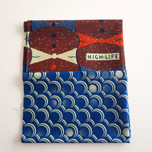 Blue and Red Fat Quarters