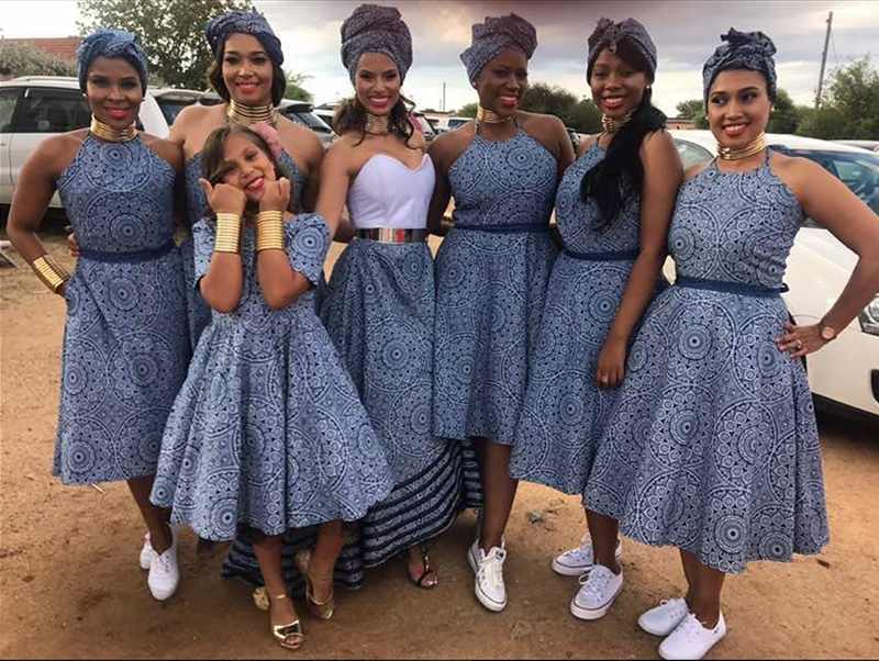 Gorgeous Shweshwe Outfits For 2018 Shoeshoe Dresses T