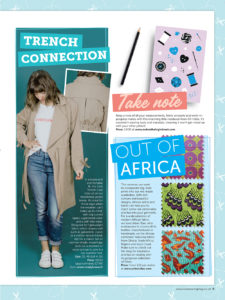Urbanstax in Love Sewing Magazine