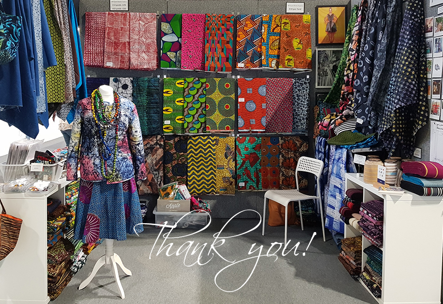 Urbanstax at the Festival of Quilts